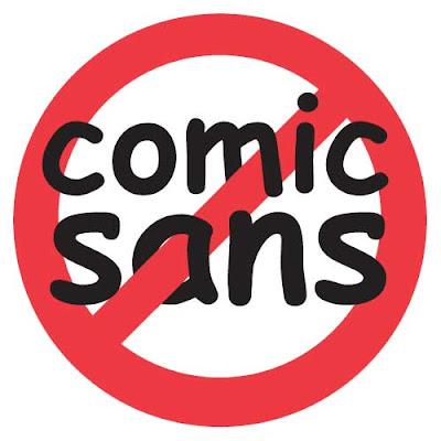 Ada Apa Dengan Comic sans