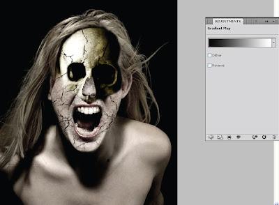 Manipulasi Foto Wajah Seram di Photoshop