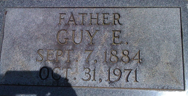 Uncle Guy's stone