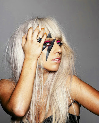 lady gaga poker face makeup. lady gaga poker face makeup.