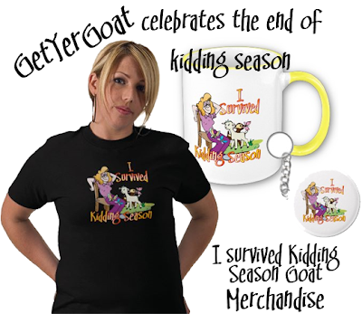 Funny goat t-shirts- kidding season