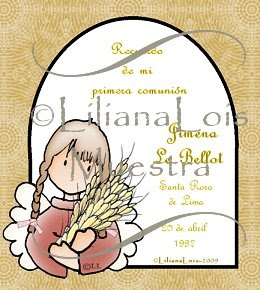 Estampas primera comunion - first Holy communion cards1