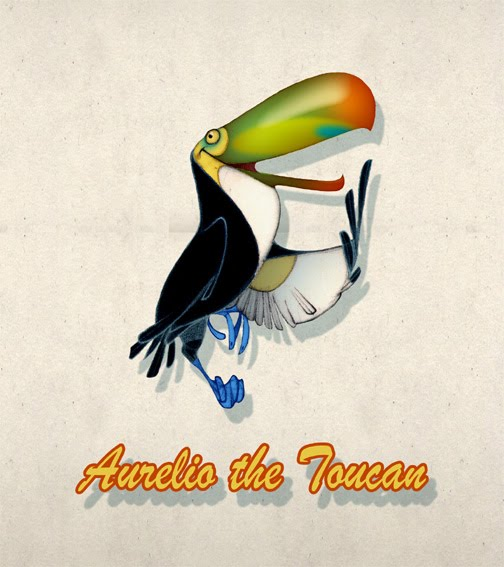 """ Aurelio the Toucan """