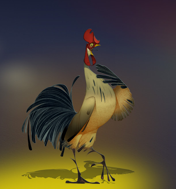 "The Creature of the Day : "" Red Neck "" Joe the cock... ( Traditional / Potoshop )..."