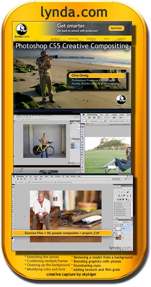 Photoshop CS5 ile Yaratıcı Fotoğraflar Video Eğitim
