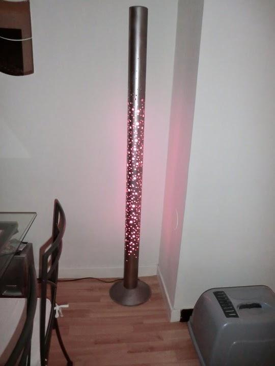 dvg design toiles objets accessoires d co lampe tube n on rose. Black Bedroom Furniture Sets. Home Design Ideas