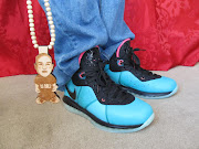 Pharrell Williams spotted rockin South Beach LeBron 8 sneakers (delz south beach)