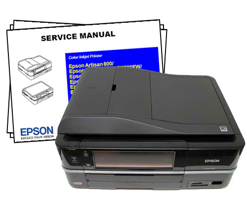 Epson Artisan 700 and 800 Service Manual ~ Padepokan PSP