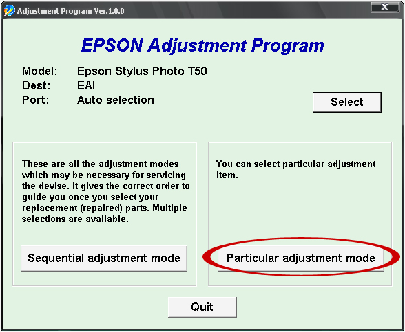 Epson T60 and T50 Resetter ~ Padepokan PSP