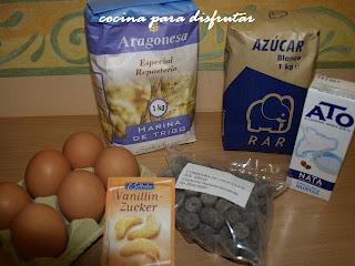 receta BRAZO DE GITANO DE TRUFA
