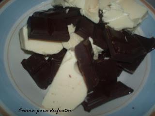 receta COULANT DE CHOCOLATE