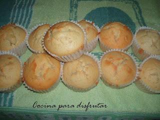 receta MUFFINS A LA MARINERA