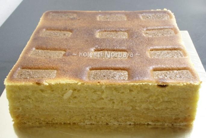 Baru2 ni saye cuba buat kek lapis cadbury & lapis riang ria