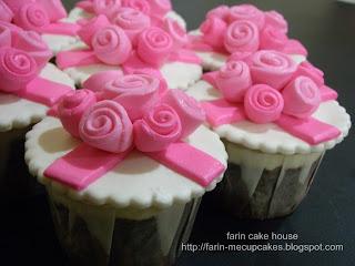 Fondant Cupcakes (Hantaran)