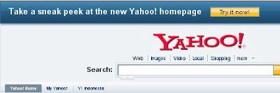 Newest Yahoo Homepage