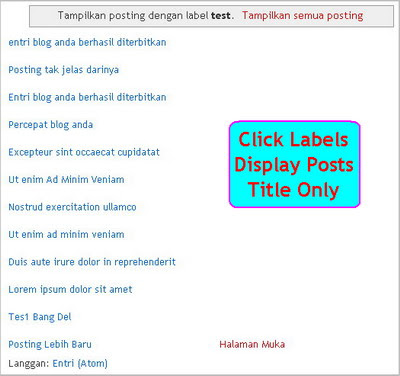 click-labels-display-posts-title-only