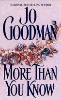 More Than You Know by Jo Goodman