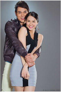Jake Cuenca and Marian Rivera