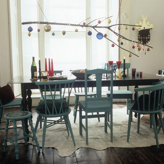 Diy Painting Kitchen Table And Chairs: E&e: Julpynt: Inspiration