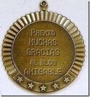 "Premio al ""Blog Amigable"""