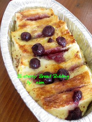 dapoer niena yatomi blueberry bread pudding