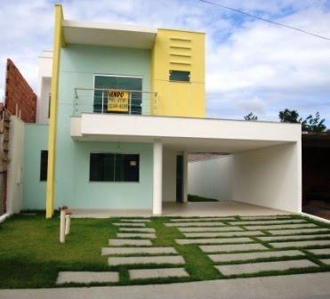 Linda casa 200 metros quadrados lindissima casa com 200 for Sala de 9 metros quadrados
