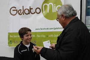 """""""Gelato Mio"""" - de Miraflores, apoia os Jogos da U.D.R.ALGÉS"""