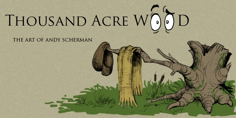 Thousand Acre Wood:  The Art of Andy Scherman