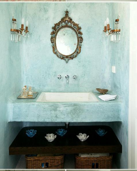 decoracao de lavabo simples : decoracao de lavabo simples:Lavabos: Dicas coringa para deixá-los com cara de ambiente de revista