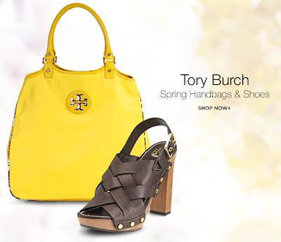 Tory Burch Black Flat Shoes