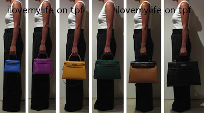 Kelly sz 20, 25, 28, 32, 35 and 40cm