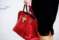 Hermès Red Birkin ..