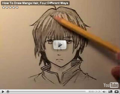 how to draw manga hairstyles. How To Draw Manga Hair,