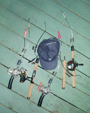 The best of fishing activities june 2010 for Bass fishing rod selection guide