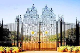 Rashtrapati Bhawan enterance gate