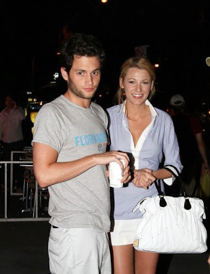 blake lively y penn badgley. lake lively amp penn badgley