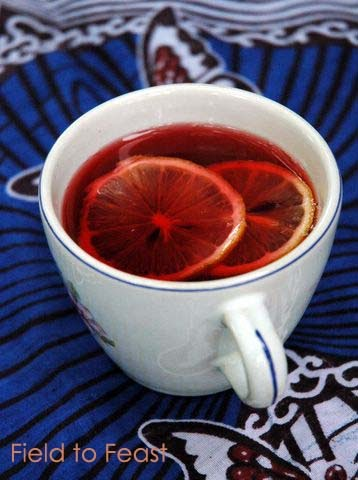 Ginger Lemon Tea Drink