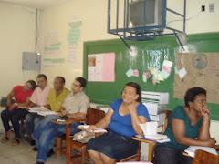 Cursistas da Prof. Cida Brandaão