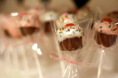 For the Cupcake Bites, place in a candy cup and package in small candy ...