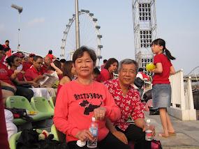 Grandpa & Grandmum @ NDP 2009
