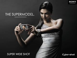 Deepika Padukone Sony Cyber Shot Advertisement 2010