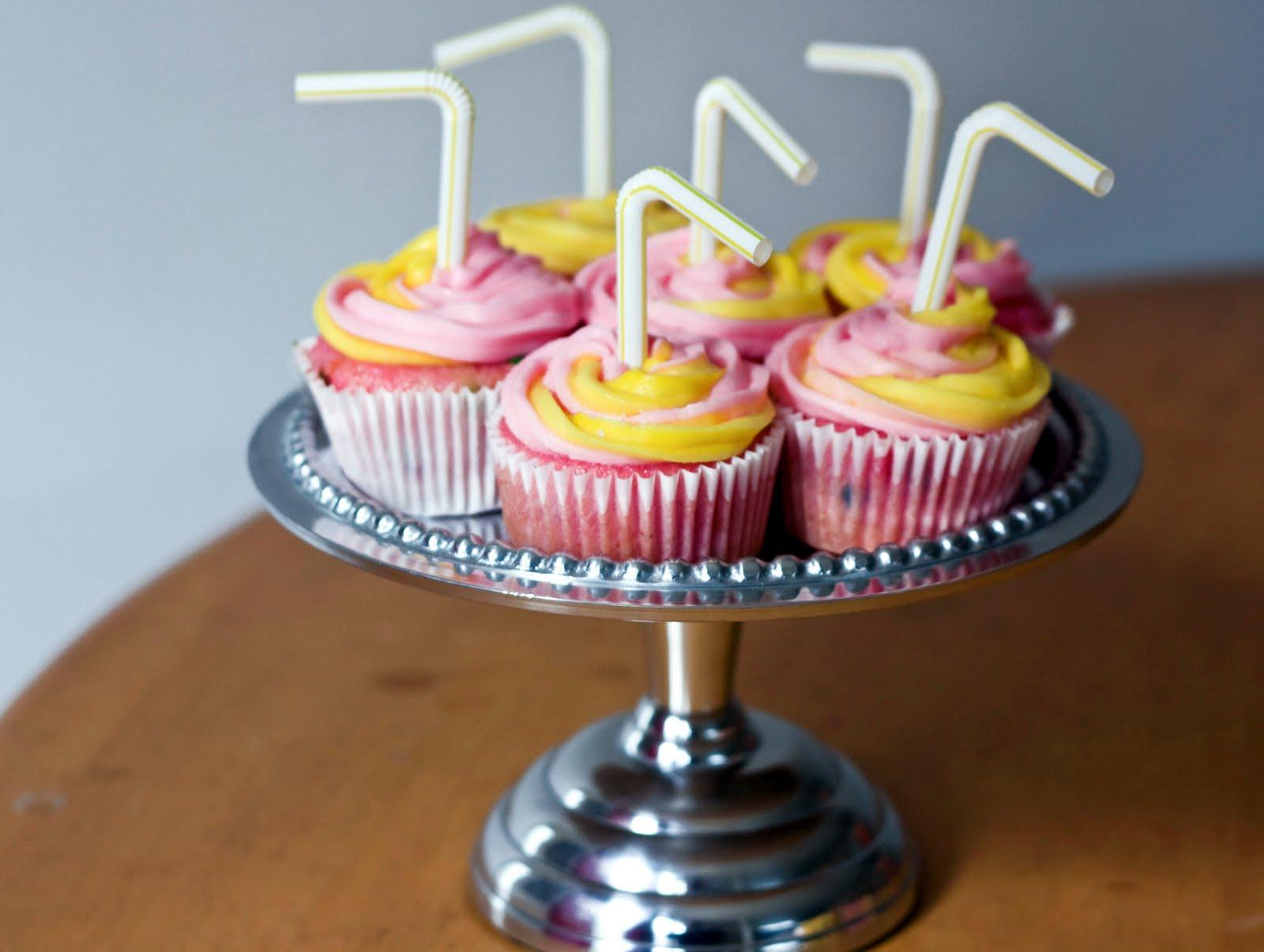 Bake pink lemonade cupcakes Lemonade Cupcakes