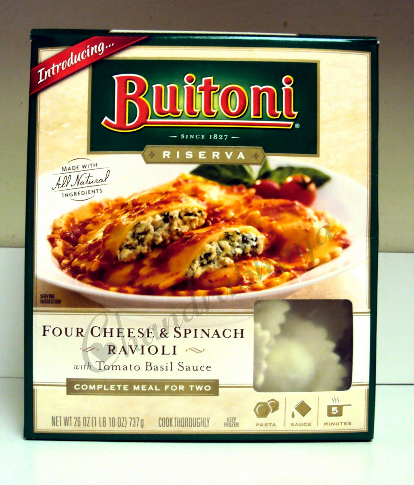 Buitoni frozen meals for two