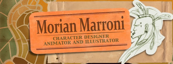 Morian Marroni - Character Designer, Animator and Illustrator