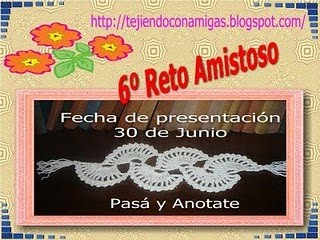 RETO AMISTOSO N 6!!!