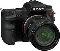 Left Sony DSLR A700