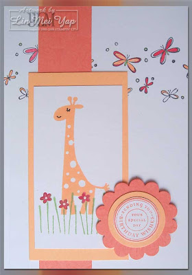 Card for Kids using Stampin' Up! supplies