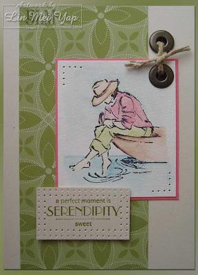Card made using Stampin' Up! supplies