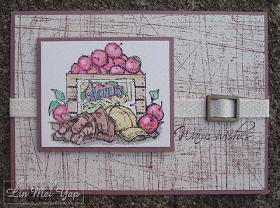 Card using Stampin' Up! supplies from Summer Mini