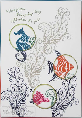 INKlings Summer Mini 2008 Swap by Lin Mei Yap, Independent Stampin' Up! Demonstrator in Sydney